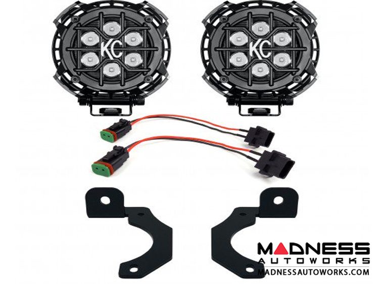 Jeep Wrangler JL Rubicon LZR LED Fog Lights for Pockets