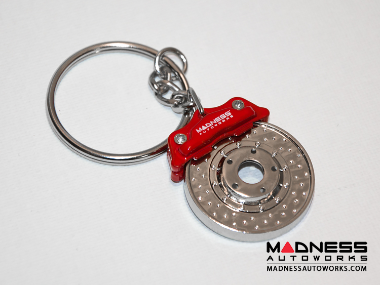 Keychain - Big Brake Caliper and Rotor by MADNESS