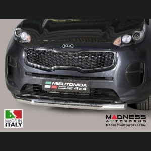 Kia Sportage Bumper Guard - Front - Slash Bar Bumper Protector by Misutonida