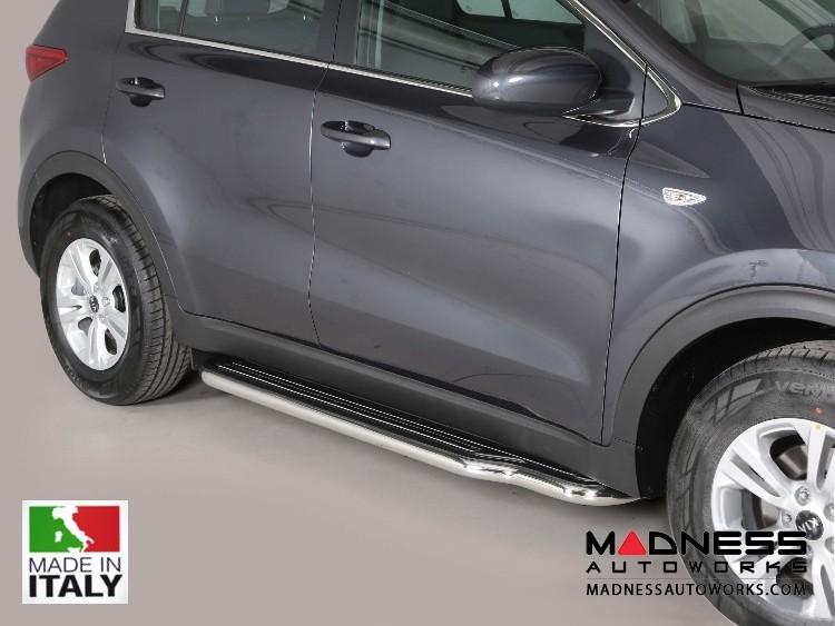 Kia Sportage Side Steps - V4 by Misutonida