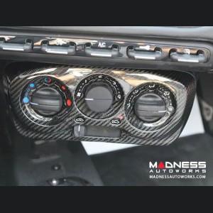 Alfa Romeo 4C Carbon Fiber Climate Control Cover