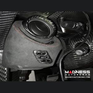 Alfa Romeo 4C Carbon Fiber Adjustment Button Control Frame