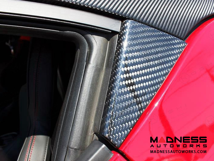 Alfa Romeo 4C Carbon Fiber Door Trim Kit