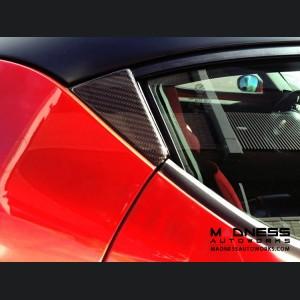 Alfa Romeo 4C Carbon Fiber Door Trim Kit