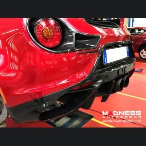 Alfa Romeo 4C Carbon Fiber Rear Diffuser