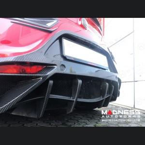 Alfa Romeo 4C Rear Diffuser - Carbon Fiber - Gloss