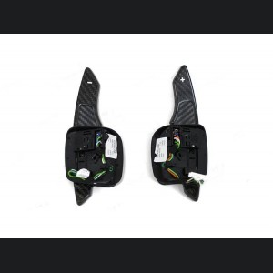 Alfa Romeo 4C Carbon Fiber Paddle Shifters - Full Carbon