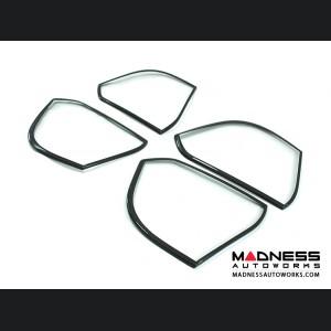 Alfa Romeo Giulia Speaker Frame Trim - Carbon Fiber - Black