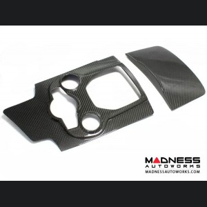 Alfa Romeo Giulia Center Console Tunnel Trim - Carbon Fiber