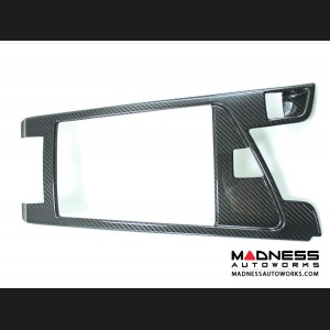 Alfa Romeo Giulia Center Console Cover Trim - Carbon Fiber