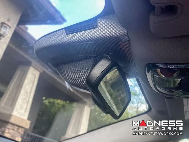 Alfa Romeo Giulia Carbon Fiber Interior Mirror Holder Frame