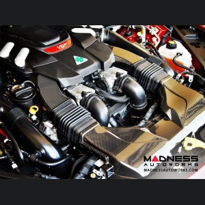 Alfa Romeo Giulia Intake Pipe Kit - Quadrifoglio Model - Carbon Fiber