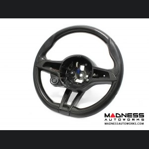 Alfa Romeo Giulia Steering Wheel Trim - QV Model - 2 piece lower trim - Carbon Fiber