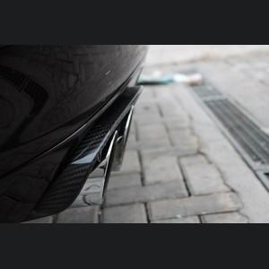 Porsche Panamera Exhaust Frame Trim - Carbon Fiber