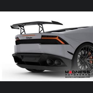 Lamborghini Huracan - Carbon Fiber High Rear Wing/ Spoiler - Luethen Motorsport - LP 610-4