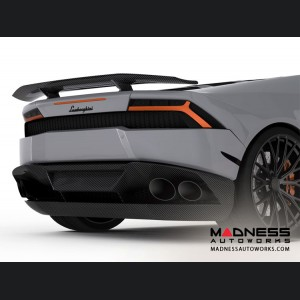 Lamborghini Huracan - Carbon Fiber Low Rear Wing/ Spoiler - Luethen Motorsport - LP 610-4