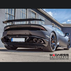 Lamborghini Huracan - Carbon Fiber Medium Rear Wing/ Spoiler - Luethen Motorsport - LP 610-4