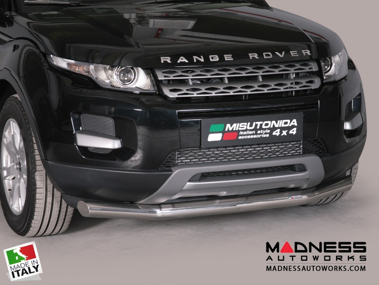 Range Rover Evoque Bumper Guard - Front - Slash Bar Bumper ...