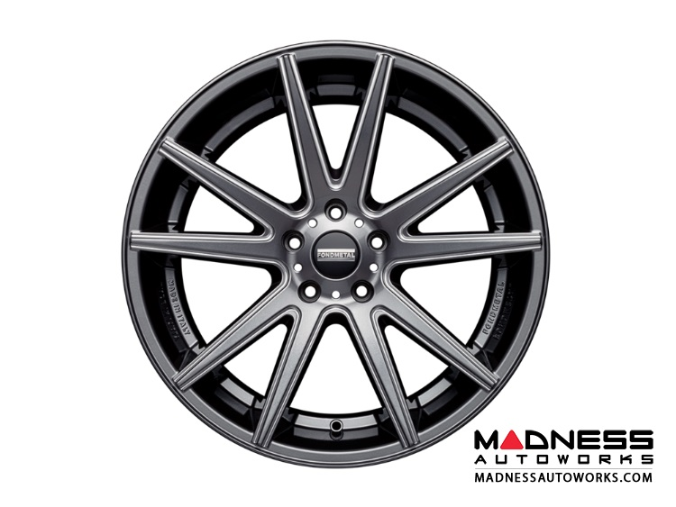 Land Rover LR2 Custom Wheels by Fondmetal - Gloss Titanium Milled