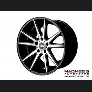 Range Rover Evoque Custom Wheels by Fondmetal - Matte Black Machined