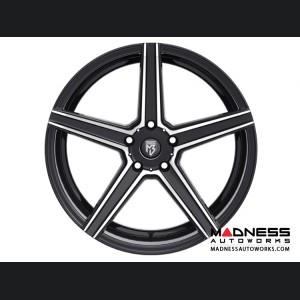 Lexus NX200t/ NX300h Custom Wheels by Fondmetal - KV-1 - Matte Black Machined