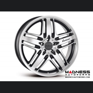 Mercedes Benz S-Class(W222) Wheel by Lorinser - RS9 Polished w/ Black Accents