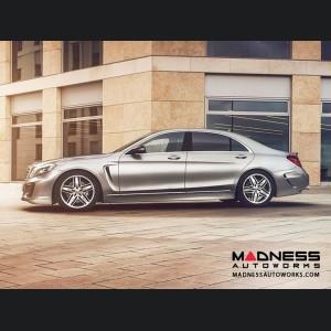 Mercedes Benz S-Class (W222) Side Skirt by Lorinser - Left Side (Long Wheel Base)