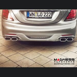 Mercedes Benz S-Class (W222) Rear Bumper by Lorinser - Parktronic