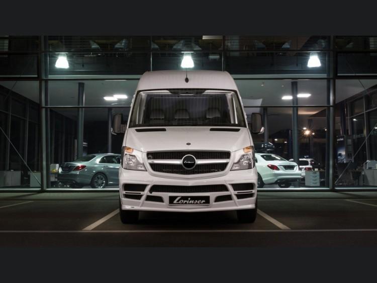 Mercedes mercedes benz sprinter conversion by lorinser for Mercedes benz sprinter parts and accessories