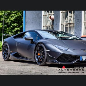 Lamborghini Huracan - Carbon Fiber Side Splitters - Luethen Motorsport - LP 610-4