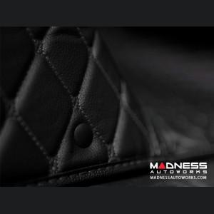 Volkswagen Golf 7 Liner Set - Black w/ Black Stitching (2015 - 2016)
