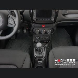 Jeep Renegade Floor Mats - All Weather Rubber - Deluxe Version