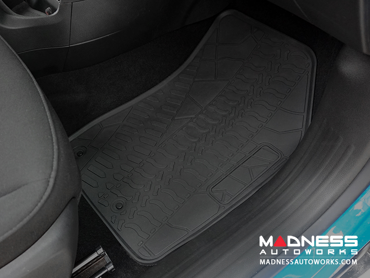Jeep Jeep Renegade Floor Mats All Weather Rubber