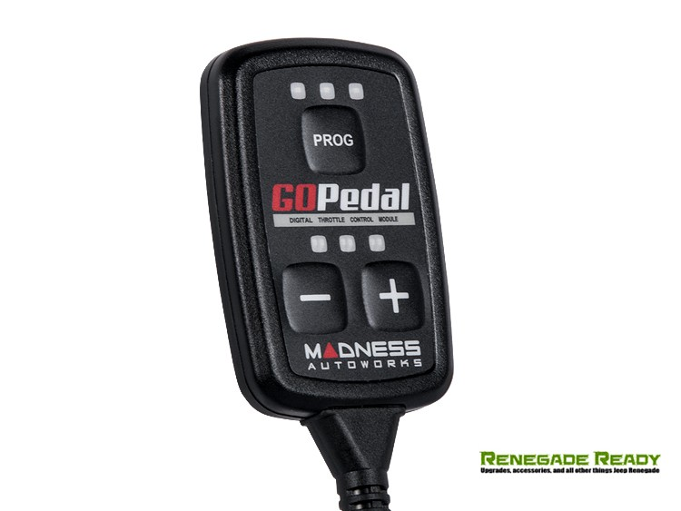 Jeep Renegade Throttle Controller - MADNESS GOPedal - 1.4L Turbo
