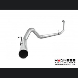 """Ford 7.3l F 250/ 350 by MBRP Exhaust Systems -  4"""" Straight Pipe Turbo Back Exhaust - No Muffler"""