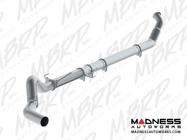 """Dodge Cummins 2500/ 3500  by MBRP Exhaust Systems - 5"""" Turbo Back Single Side - No Muffler"""