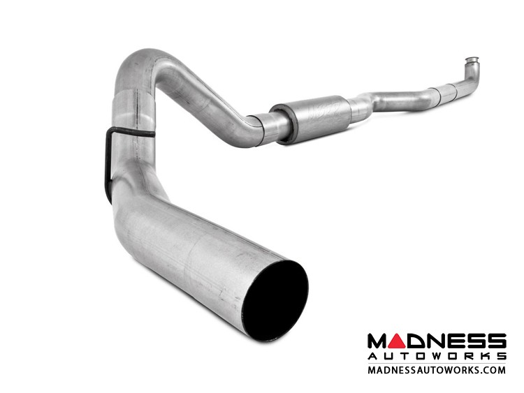 """Dodge Cummins 2500/ 3500  by MBRP Exhaust Systems - 4"""" Turbo Back Single Side Exit  -  Dodge 94-02 2500/3500 Cummins   Turbo Back  Single Side"""