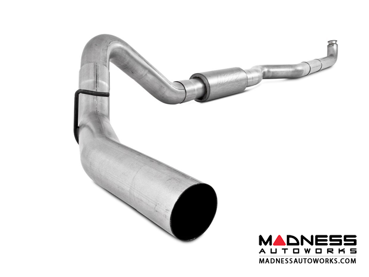 "Dodge Cummins 2500/ 3500  by MBRP Exhaust Systems - 4"" Turbo Back Single Side Exit  -  Dodge 94-02 2500/3500 Cummins   Turbo Back  Single Side"