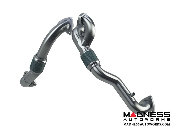 Ford Super Duty 6.4L Powerstroke by MBRP Exhaust Systems - Turbo Up Pipe Kit - AL
