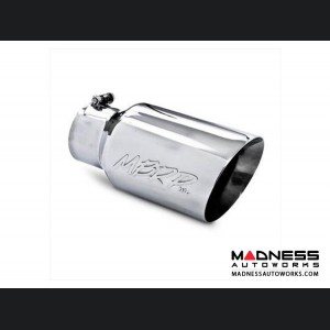 """Universal Tip by MBRP Exhaust Systems - 7"""" O.D. Rolled End - Polished"""