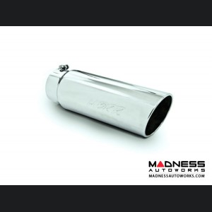 """Universal Tip by MBRP Exhaust Systems - Angled Cut Rolled End - 5"""" Inlet 18"""" Length"""