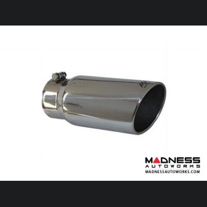 """Universal Tip by MBRP Exhaust Systems - Angled Rolled End - 5"""" Outer Diameter"""