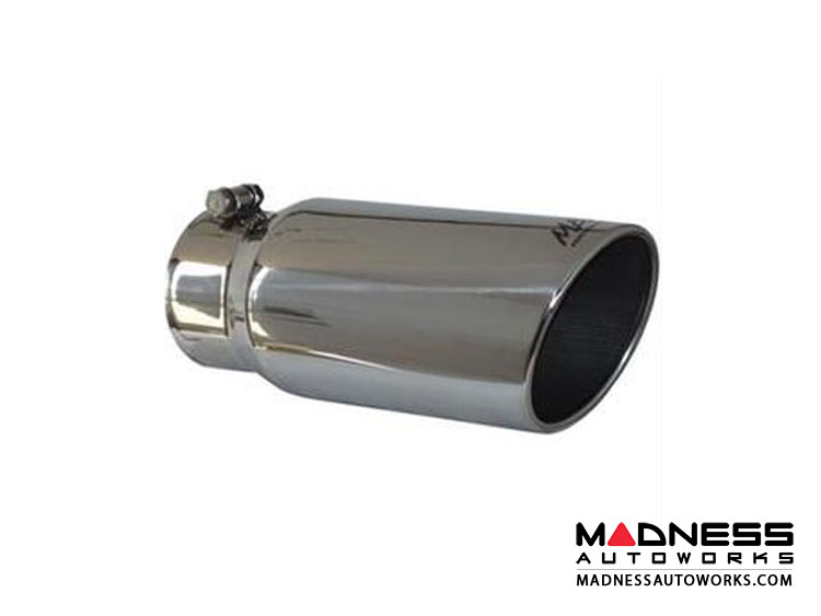 "Universal Tip by MBRP Exhaust Systems - Angled Rolled End - 6"" Outer Diameter"