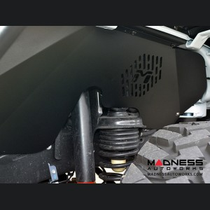 Jeep Wrangler JL Vented Replacement Inner Fender Well - Aluminum - Black Powdercoat