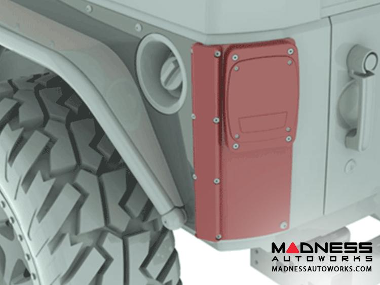 Jeep Wrangler JK ExoCorner LED Kit - Pair