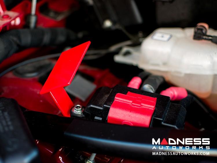Alfa Romeo Stelvio ECM Mount - Red