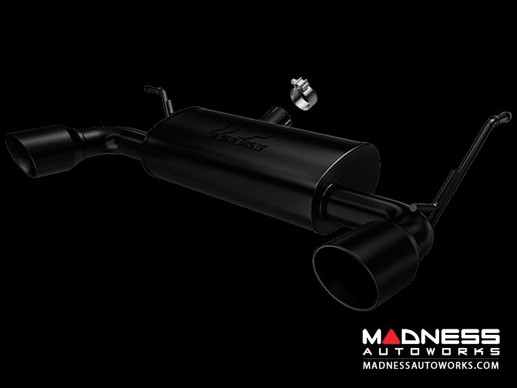 Jeep Wrangler 3.6 Performance Exhaust by Magnaflow - Black Exhaust System