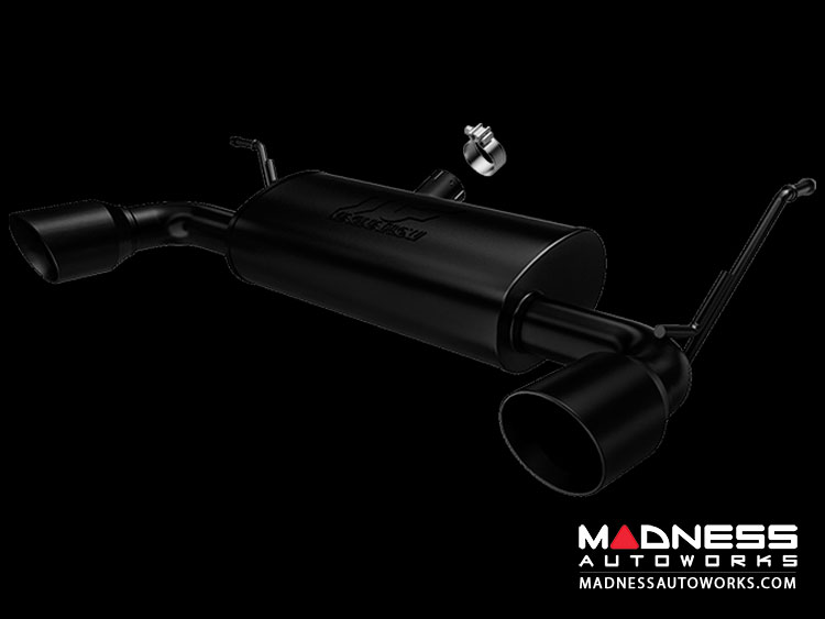 Jeep Wrangler 3.8 Performance Exhaust by Magnaflow - Black Exhaust System