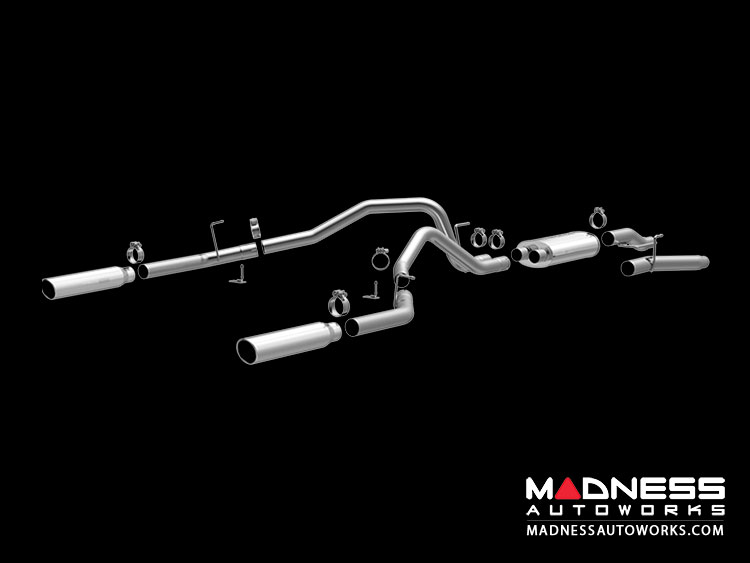 "Ford F-150 4.6L V8 Performance Exhaust by Magnaflow - 3"" Exhaust System"