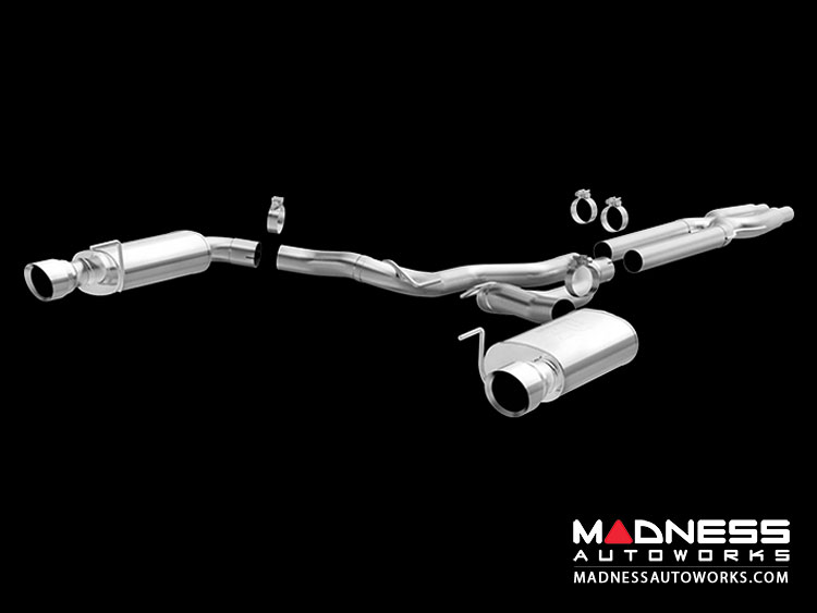 "Ford Mustang 5.0L V8 Performance Exhaust by Magnaflow - 3"" Exhaust System"